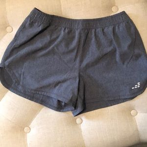 Pants - Gray Ladies Athletic Shorts